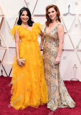 Kathrine Narducci, Stephanie Kurtzuba. Kathrine Narducci, left, and Stephanie Kurtzuba arrive at the Oscars, at the Dolby Theatre in Los Angeles