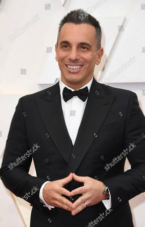 Sebastian Maniscalco arrives at the Oscars, at the Dolby Theatre in Los Angeles