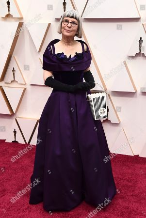 Lois Burwell arrives at the Oscars, at the Dolby Theatre in Los Angeles