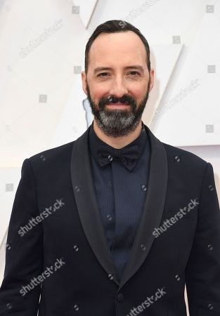 Tony Hale arrives at the Oscars, at the Dolby Theatre in Los Angeles