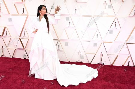 Lilly Singh arrives at the Oscars, at the Dolby Theatre in Los Angeles