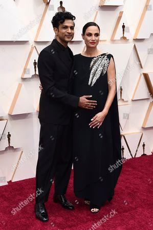 Utkarsh Ambudkar, Naomi Campbell. Utkarsh Ambudkar, left, and Naomi Campbell arrive at the Oscars, at the Dolby Theatre in Los Angeles