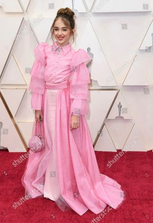 Julia Butters arrives at the Oscars, at the Dolby Theatre in Los Angeles