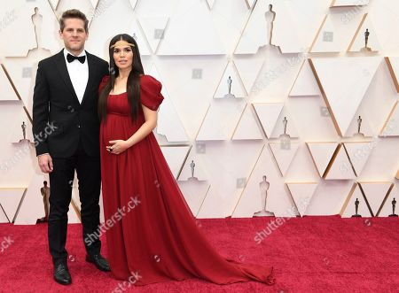 Ryan Piers Williams, America Ferrera. Ryan Piers Williams, left, and America Ferrera arrive at the Oscars, at the Dolby Theatre in Los Angeles