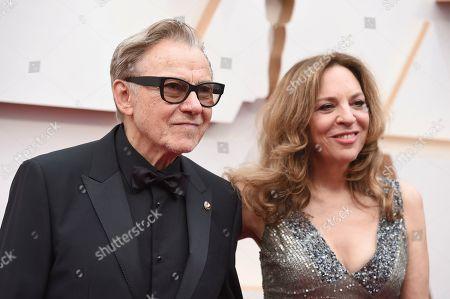 Harvey Keitel, Daphna Kastner. Harvey Keitel, left, and Daphna Kastner arrive at the Oscars, at the Dolby Theatre in Los Angeles