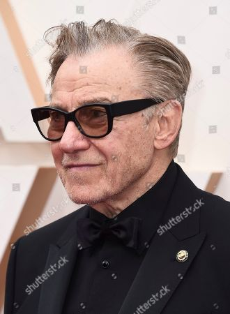 Harvey Keitel arrives at the Oscars, at the Dolby Theatre in Los Angeles