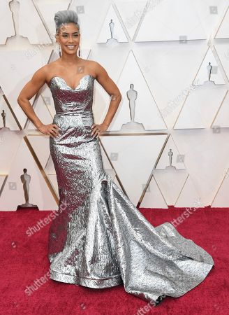 Sibley Scoles arrives at the Oscars, at the Dolby Theatre in Los Angeles