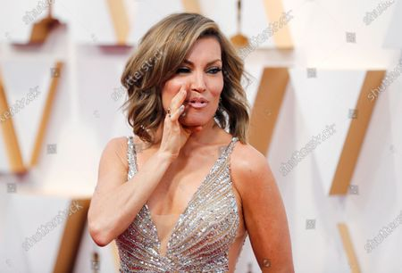 Stock Picture of Kit Hoover arrives for the 92nd annual Academy Awards ceremony at the Dolby Theatre in Hollywood, California, USA, 09 February 2020. The Oscars are presented for outstanding individual or collective efforts in filmmaking in 24 categories.
