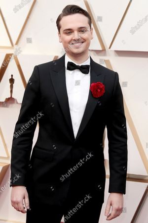 Dean-Charles Chapman arrives during the 92nd annual Academy Awards ceremony at the Dolby Theatre in Hollywood, California, USA, 09 February 2020. The Oscars are presented for outstanding individual or collective efforts in filmmaking in 24 categories.