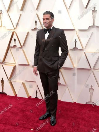Omar Sharif Jr. arrives during the 92nd annual Academy Awards ceremony at the Dolby Theatre in Hollywood, California, USA, 09 February 2020. The Oscars are presented for outstanding individual or collective efforts in filmmaking in 24 categories.