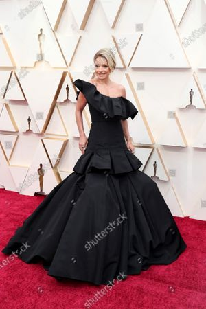 Kelly Ripa arrives during the 92nd annual Academy Awards ceremony at the Dolby Theatre in Hollywood, California, USA, 09 February 2020. The Oscars are presented for outstanding individual or collective efforts in filmmaking in 24 categories.