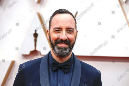 Tony Hale arrives during the 92nd annual Academy Awards ceremony at the Dolby Theatre in Hollywood, California, USA, 09 February 2020. The Oscars are presented for outstanding individual or collective efforts in filmmaking in 24 categories.