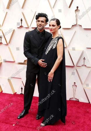 Utkarsh Ambudkar and Naomi Campbell arrive during the 92nd annual Academy Awards ceremony at the Dolby Theatre in Hollywood, California, USA, 09 February 2020. The Oscars are presented for outstanding individual or collective efforts in filmmaking in 24 categories.