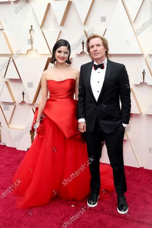 Bryan Buckley and Kiana Madani arrive during the 92nd annual Academy Awards ceremony at the Dolby Theatre in Hollywood, California, USA, 09 February 2020. The Oscars are presented for outstanding individual or collective efforts in filmmaking in 24 categories.