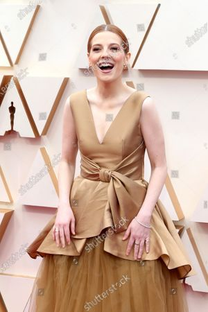 Krysty Wilson-Cairns arrives for the 92nd annual Academy Awards ceremony at the Dolby Theatre in Hollywood, California, USA, 09 February 2020. The Oscars are presented for outstanding individual or collective efforts in filmmaking in 24 categories.