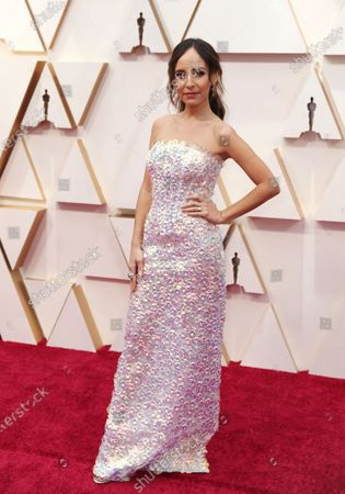 Lilliana Vazquez arrives for the 92nd annual Academy Awards ceremony at the Dolby Theatre in Hollywood, California, USA, 09 February 2020. The Oscars are presented for outstanding individual or collective efforts in filmmaking in 24 categories.