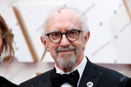 Jonathan Pryce arrives for the 92nd annual Academy Awards ceremony at the Dolby Theatre in Hollywood, California, USA, 09 February 2020. The Oscars are presented for outstanding individual or collective efforts in filmmaking in 24 categories.