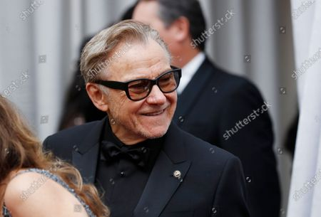 Harvey Keitel arrives for the 92nd annual Academy Awards ceremony at the Dolby Theatre in Hollywood, California, USA, 09 February 2020. The Oscars are presented for outstanding individual or collective efforts in filmmaking in 24 categories.