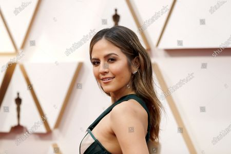 Erin Lim arrives for the 92nd annual Academy Awards ceremony at the Dolby Theatre in Hollywood, California, USA, 09 February 2020. The Oscars are presented for outstanding individual or collective efforts in filmmaking in 24 categories.