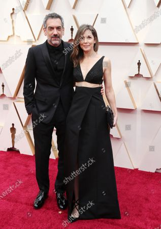 Todd Phillips (L) and Alexandra Kravetz arrive for the 92nd annual Academy Awards ceremony at the Dolby Theatre in Hollywood, California, USA, 09 February 2020. The Oscars are presented for outstanding individual or collective efforts in filmmaking in 24 categories.