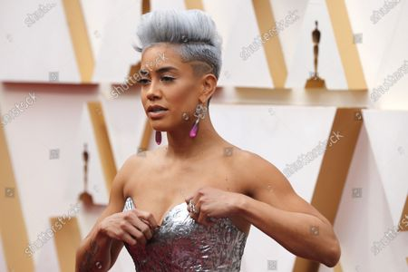 Sibley Scoles arrives for the 92nd annual Academy Awards ceremony at the Dolby Theatre in Hollywood, California, USA, 09 February 2020. The Oscars are presented for outstanding individual or collective efforts in filmmaking in 24 categories.