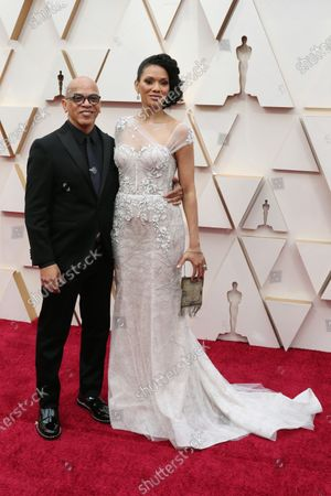 Rickey Minor and Rachel Montez Minor arrive for the 92nd annual Academy Awards ceremony at the Dolby Theatre in Hollywood, California, USA, 09 February 2020. The Oscars are presented for outstanding individual or collective efforts in filmmaking in 24 categories.