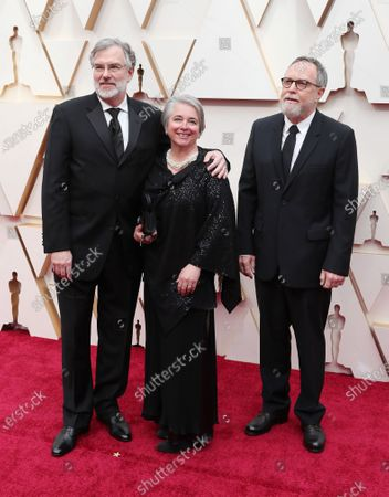 Gary Rydstrom, Tom Johnson and guest arrive for the 92nd annual Academy Awards ceremony at the Dolby Theatre in Hollywood, California, USA, 09 February 2020. The Oscars are presented for outstanding individual or collective efforts in filmmaking in 24 categories.