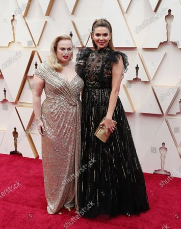 Rebel Wilson (L) and Carly Steel arrive for the 92nd annual Academy Awards ceremony at the Dolby Theatre in Hollywood, California, USA, 09 February 2020. The Oscars are presented for outstanding individual or collective efforts in filmmaking in 24 categories.