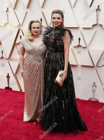 Stock Picture of Rebel Wilson (L) and Carly Steel arrive for the 92nd annual Academy Awards ceremony at the Dolby Theatre in Hollywood, California, USA, 09 February 2020. The Oscars are presented for outstanding individual or collective efforts in filmmaking in 24 categories.