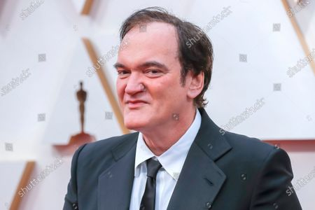 Quentin Tarantino arrives for the 92nd annual Academy Awards ceremony at the Dolby Theatre in Hollywood, California, USA, 09 February 2020. The Oscars are presented for outstanding individual or collective efforts in filmmaking in 24 categories.