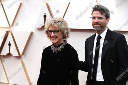 Nancy Haigh (L) arrives for the 92nd annual Academy Awards ceremony at the Dolby Theatre in Hollywood, California, USA, 09 February 2020. The Oscars are presented for outstanding individual or collective efforts in filmmaking in 24 categories.