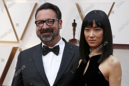 James Mangold (L) and guest arrive for the 92nd annual Academy Awards ceremony at the Dolby Theatre in Hollywood, California, USA, 09 February 2020. The Oscars are presented for outstanding individual or collective efforts in filmmaking in 24 categories.