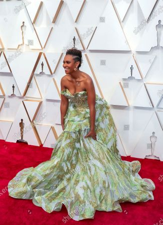 Ryan Michelle Bathe arrives for the 92nd annual Academy Awards ceremony at the Dolby Theatre in Hollywood, California, USA, 09 February 2020. The Oscars are presented for outstanding individual or collective efforts in filmmaking in 24 categories.