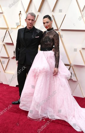 Gal Gadot (R) and Yaron Varsano arrive for the 92nd annual Academy Awards ceremony at the Dolby Theatre in Hollywood, California, USA, 09 February 2020. The Oscars are presented for outstanding individual or collective efforts in filmmaking in 24 categories.