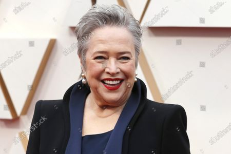Kathy Bates arrives for the 92nd annual Academy Awards ceremony at the Dolby Theatre in Hollywood, California, USA, 09 February 2020. The Oscars are presented for outstanding individual or collective efforts in filmmaking in 24 categories.