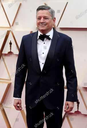 Stock Photo of Ted Sarandos arrives for the 92nd annual Academy Awards ceremony at the Dolby Theatre in Hollywood, California, USA, 09 February 2020. The Oscars are presented for outstanding individual or collective efforts in filmmaking in 24 categories.