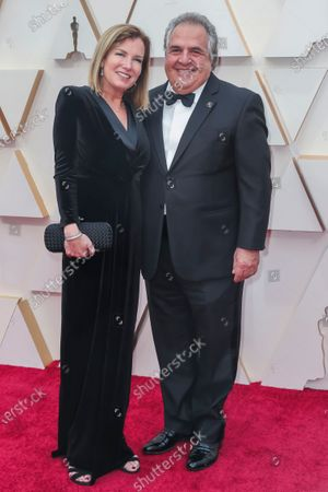 Ann Gianopulos (L) and Jim Gianopulos (R) arrive for the 92nd annual Academy Awards ceremony at the Dolby Theatre in Hollywood, California, USA, 09 February 2020. The Oscars are presented for outstanding individual or collective efforts in filmmaking in 24 categories.
