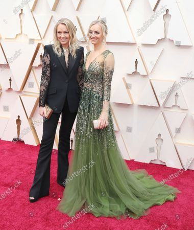 Lynette Howell Taylor (L) arrives for the 92nd annual Academy Awards ceremony at the Dolby Theatre in Hollywood, California, USA, 09 February 2020. The Oscars are presented for outstanding individual or collective efforts in filmmaking in 24 categories.