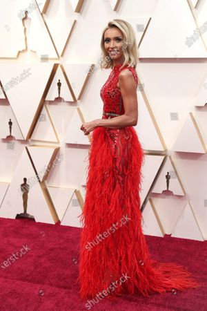 Giuliana Rancic arrives for the 92nd annual Academy Awards ceremony at the Dolby Theatre in Hollywood, California, USA, 09 February 2020. The Oscars are presented for outstanding individual or collective efforts in filmmaking in 24 categories.