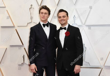 George MacKay, Dean-Charles Chapman. George MacKay, left, and Dean-Charles Chapman arrive at the Oscars, at the Dolby Theatre in Los Angeles