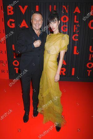 Jean-Christophe Babin and Ruby Aldridge