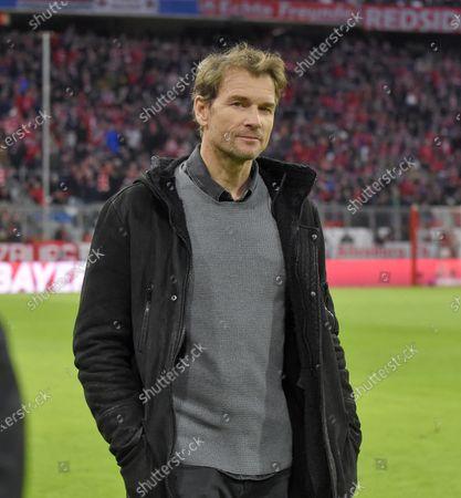 09.02.2020, Football 1. Bundesliga 2019/2020, 21. match day, FC Bayern Muenchen - RB Leipzig, in Allianz-Arena Muenchen. Jens Lehmann, Ex-goalkeeper and jetzt TV-Experte.