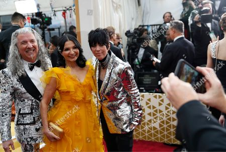 Paul Antonelli, Kathrine Narducci, Diane Warren. Paul Antonelli, from left, Kathrine Narducci and Diane Warren pose for a photo as they arrive at the Oscars, at the Dolby Theatre in Los Angeles