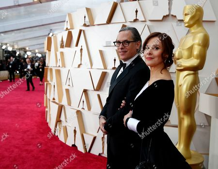 Editorial picture of 92nd Academy Awards - Red Carpet, Los Angeles, USA - 09 Feb 2020
