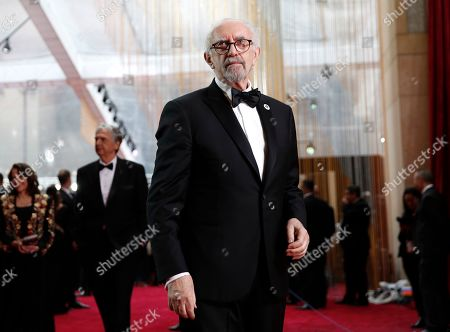 Jonathan Pryce arrives at the Oscars, at the Dolby Theatre in Los Angeles
