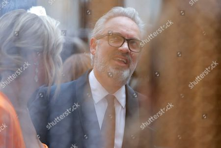 Sam Mendes arrives at the Oscars, at the Dolby Theatre in Los Angeles