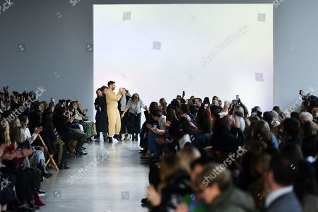 Jonathan Simkhai on the catwalk