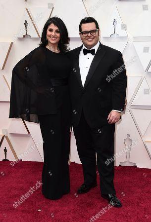 Ida Darvish, Josh Gad. Ida Darvish, left, and Josh Gad arrive at the Oscars, at the Dolby Theatre in Los Angeles