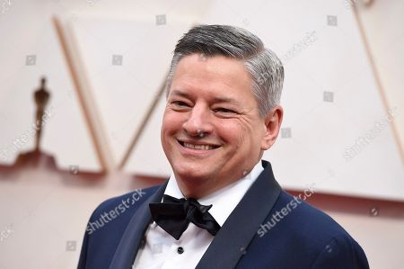 Ted Sarandos arrives at the Oscars, at the Dolby Theatre in Los Angeles