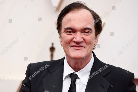 Stock Image of Quentin Tarantino arrives at the Oscars, at the Dolby Theatre in Los Angeles